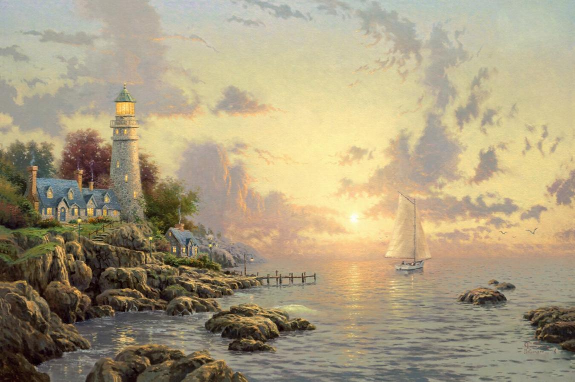 Thomas Kinkade ... Nice Ideas